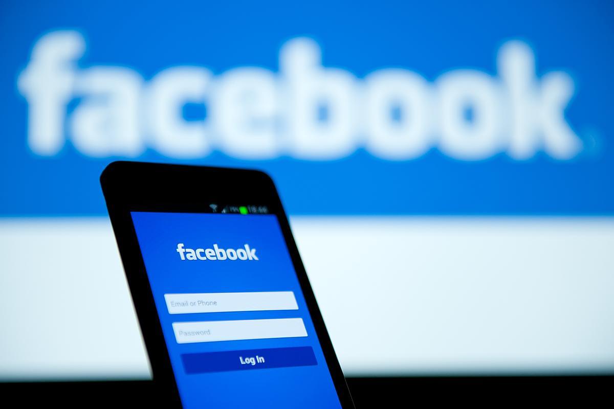 Иллюстрация на тему Как выйти из Фейсбука на телефоне Андроид или планшете