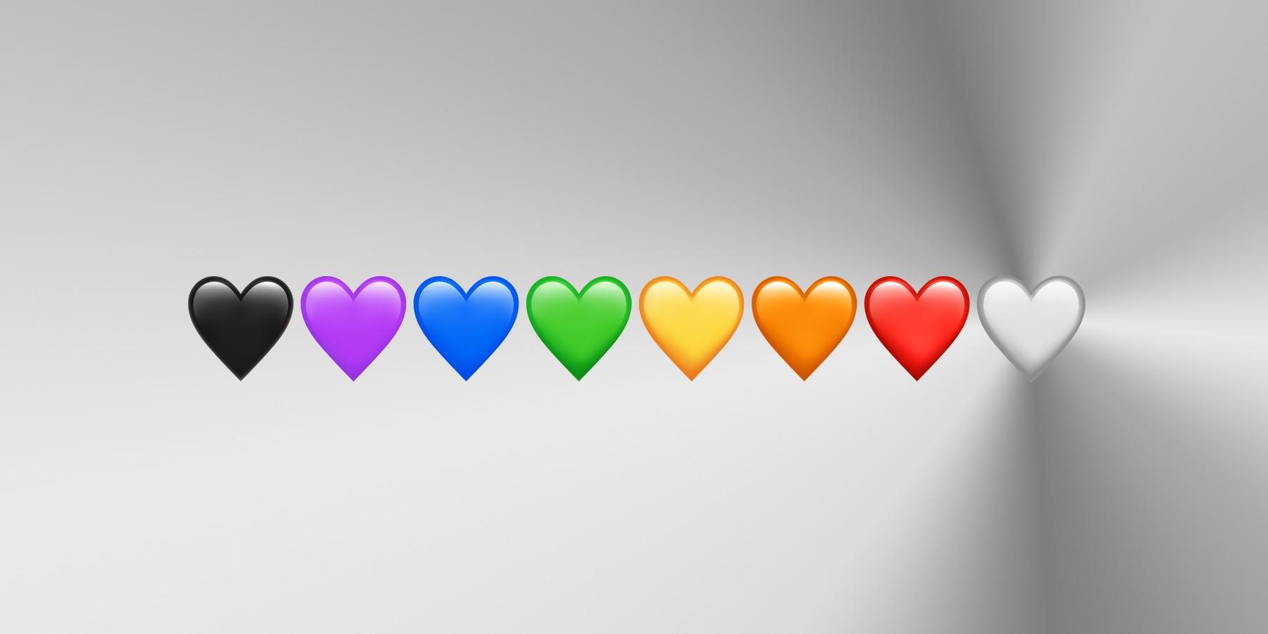 Иллюстрация на тему Что означает черное сердце в ВК: история смайла, описание