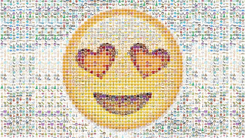 Иллюстрация на тему Много сердечек в ВК скопировать с компьютера: картины из смайлов