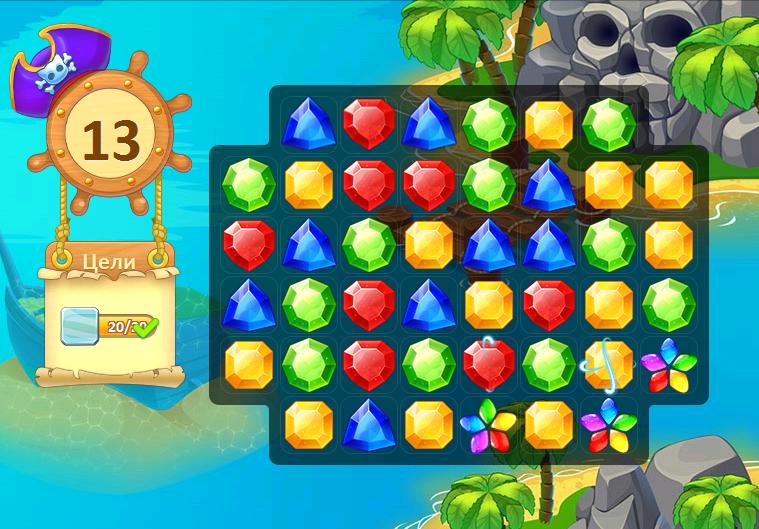 Иллюстрация на тему ВК Сокровища Пиратов: описание игры и обзор игрового процесса